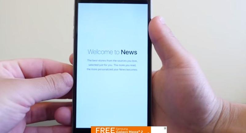 """BUILT AROUND TOPICS"" PREVIEW iOS 9 NEWS APP [VIA MACRUMORS]"