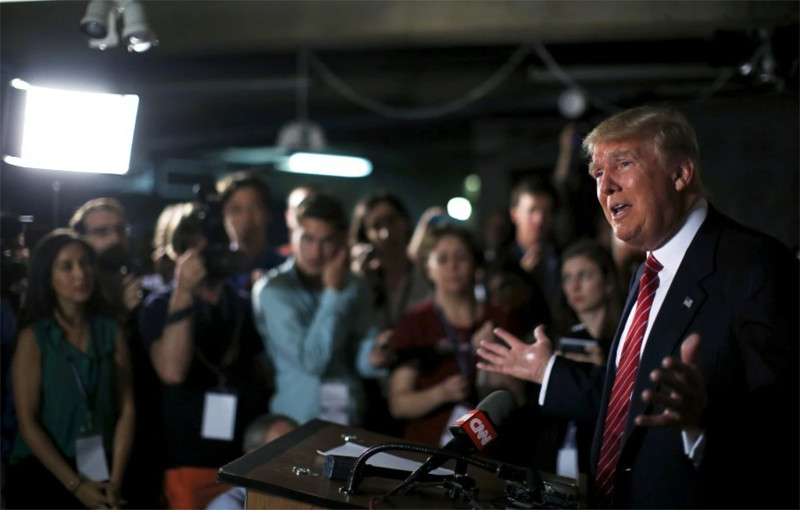 Why is Trump surging? Blame the media.